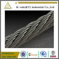 Hot sale stainless steel wire rope 7 x 7 aircraft cable wire rope
