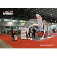 China Aluminium Frame Geodesic Domes Construction Tent , Dome Party Tents wholesale