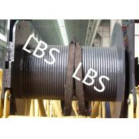 China 250KG Small Type Wire Rope Winch Drum  with Lebus Grooving For Crane Area wholesale