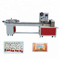 China 304 Stainless Steel Candy Packing Machine With Gas Filling / Date Printer Pillow Seal Type wholesale