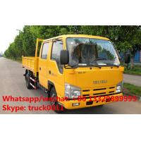 China Factory direct sale ISUZU LHD twin cab 98hp diesel mini cargo truck, Japanese brand leading isuzu Brand pickups on sale