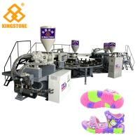 China Rotary PVC Injection TPR Sole Making Machines For Women / Men Sports Shoes wholesale