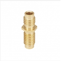China Brass Natural Color Length 20mm All Metal Throat Suit for M6X20 Screw wholesale
