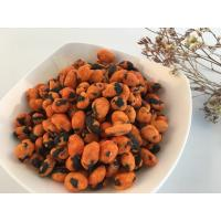 Buy cheap Chinese soybean snack foods coated and pure roasted edamame Spicy flavor from wholesalers