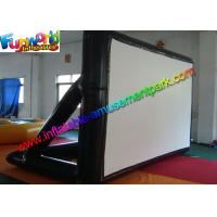 China Airtight Frame Inflatable Outdoor Movie Screen 0.6MM PVC Tarpaulin wholesale