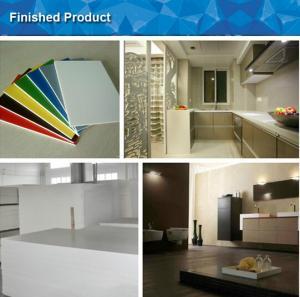 China PS Plastic / PVC Foam Board Extrusion Machine Max. Output 260kgs/h wholesale
