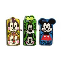 China Cartoon Style Mobile Phone Silicone Cases apply to Iphone 5 / 5S wholesale