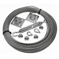 China Galvanised wire cable assemblies Catenary Kits 3MM steel wire rope wholesale