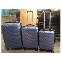 ABS Hardshell 4 Wheel Carry On Luggage Suitcase Set Of 3 With Customized Logo