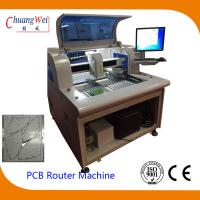 China Manual Loading / Unloading PCB Depaneling Router With 50000RPM wholesale