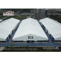 China 25 Meter Width White Marquee Canopy Tent For Movable Temporary Exhibition wholesale
