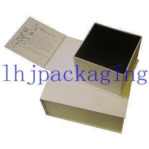 China book shape hinged  box wholesale