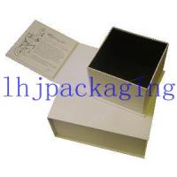 Buy cheap book shape hinged box from wholesalers