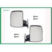 China Universal Sporty Golf Cart Side View Mirrors Extra Wide Rear View Mirror wholesale
