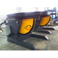 China 1100W Horizontal Automatic Pipe Welding Positioners 3 Ton Rotation Capacity wholesale