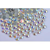 China Shoes / Garment Loose Hotfix Rhinestones Extremely Shiny High Color Accuracy wholesale