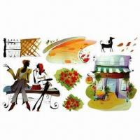 China Removable Wall Stickers, Suitable for Decoration, Eco-friendly, Made of PVC wholesale