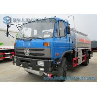 China 170HP 4x2 Transport Chemical Oil Tank Truck Dong Feng Vehicles wholesale