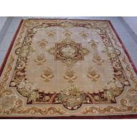 China Carved Artificial Silk carpet on sale