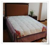 China 75% white duck down comforter wholesale