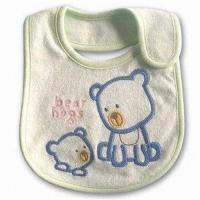 Wholesale Baby Bib, 100% Cotton Bib & Promotional Bibs from china suppliers
