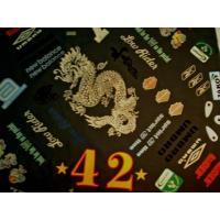 Wholesale 3d Flock Heat Transfers With Iron On Embroidery Badge from china suppliers