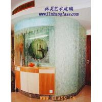 Glasswork fused glass wall