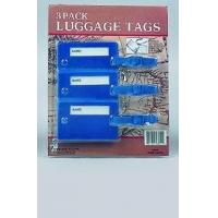Wholesale STATIONERY 60755 3pcs Luggage Tags from china suppliers