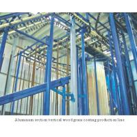 Wholesale Spray-coating Equi... Aluminum section vertical wood grain coating production line from china suppliers