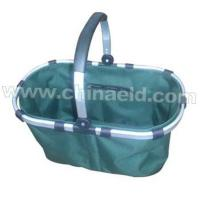 Wholesale Folding shopping basket with one handleELD-A102 from china suppliers