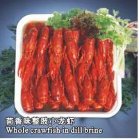 China LOBSTER SERIES Whole Cooked Crayfish in Dill Brine wholesale