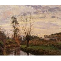 China Impressionist(3830) Landscape_with_Small_Stream wholesale