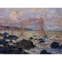 China Impressionist(3830) Fishing_Nets_at_Pourville wholesale