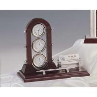 Desk clock w.pen holder