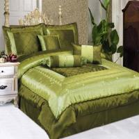 China Bed Linens Embroidered Comforter Set wholesale