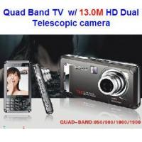 China TV Mobile Phone MP-391(T1000i)QuadbandTVPhonewith13.0MHDdualtelescopiccamera wholesale