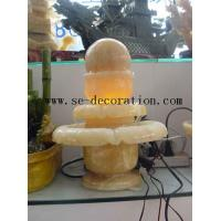 Lantern Product Nameyellow onyx small fortune ball sculpture