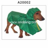 China Pet Clothes A20002 pet rain coat pet rain coat wholesale