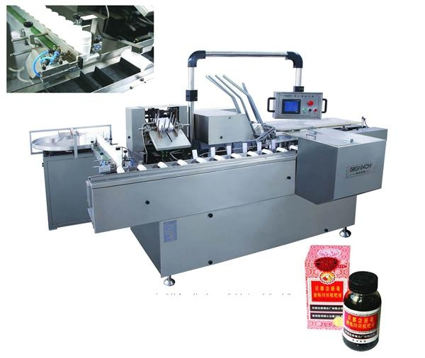 Quality Box Packing Machine DZH-120 Bottle Box Packaging machine for sale