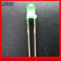 China 3mm round led(3.0*5.3) green color wholesale
