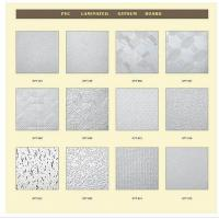 Wholesale Vinyl Faced Gypsum Ceiling Tile Pvc Laminated Gypsum Board-1 from china suppliers