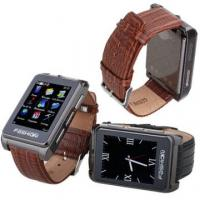 China S9110 Quad Band Single Card Bluetooth FM Touch Screen Watch Phone wholesale