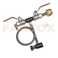 China Dual valve CO2 fill station on sale