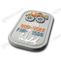 China PVC Badges & rubber patch on sale