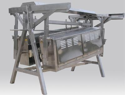 Quality The A type takes off feather machine for sale