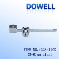Wholesale glass cabinet lock 328-140D from china suppliers