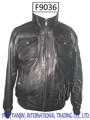 China Man's Lambskin Jacket