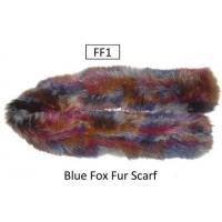 Buy cheap Blue Fox Fur Scarf from wholesalers