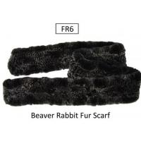 Buy cheap Beaver Rabbit Fur Scarf from wholesalers