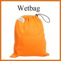 Drawstring Orange Color Wetbag